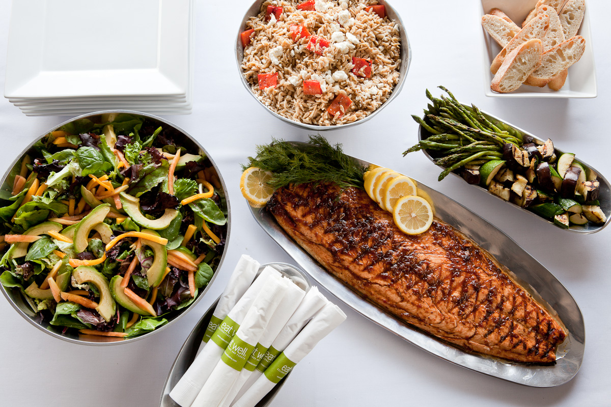 Cincinnati corporate catering eat well celebrations and feasts our european style buffet lunches feature lean grilled meats fish and chicken seasonal vegetable and grain salads and always a creative abundant salad forumfinder Images
