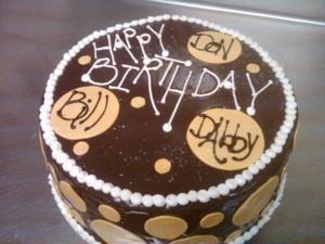 B-52 Birthday Cake